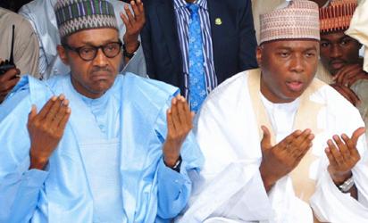 Buhari and Saraki