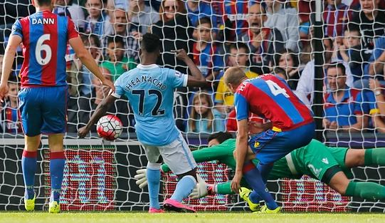 File: Iheanacho scores against Crystal Place