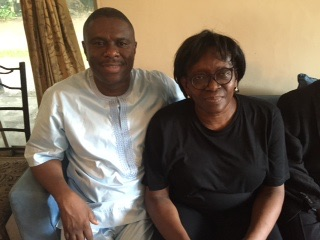 Dr Dakuku Peterside  APC governorship candidate in the last governorship election and Donu Kogbara released by kidnappers 13 days after she was kidnapped at her PH residence