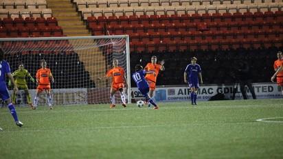 Eniola Aluko scores