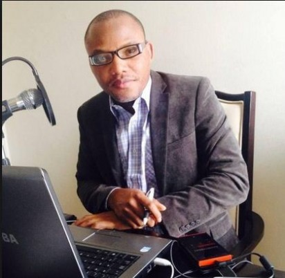 Director of pirate radio, Radio Biafra, Nnamdi Kanu