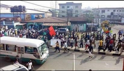 Biafra-Aba-Protest