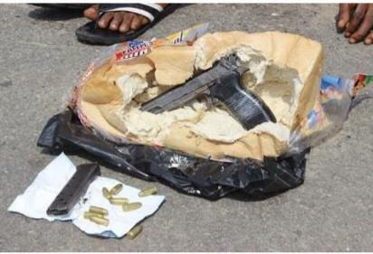 Yuletide: Criminals now conceal guns in bread