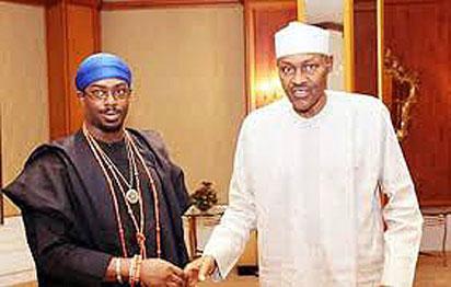 HIS Royal Majesty, Ikenchukwu Keagborekuzi 1, Dein of Agbor Kingdom, Anioma, Delta State & Buhari