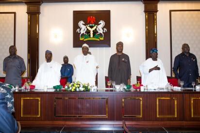 Buhari-Senators