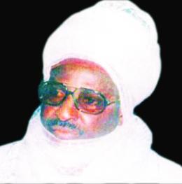 Alhaji Haliru Dantoro, Late Emir of  Borgu, 1938-2015