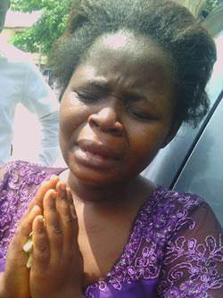 The suspect, Nkechi Obi.