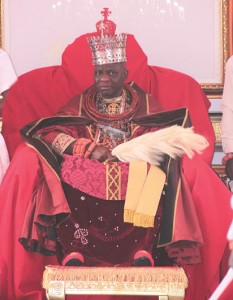 •His Royal  Majesty Ogiame  Ikenwoli