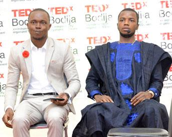 Lawrence Oye and Opeoluwa Aiyegbusi the creators of Swap Naija