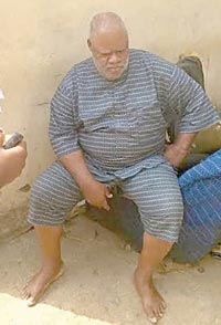 65-yr-old suspect, Bassey