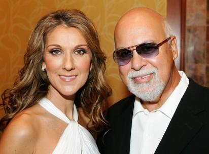 Celine and Rene Angelil