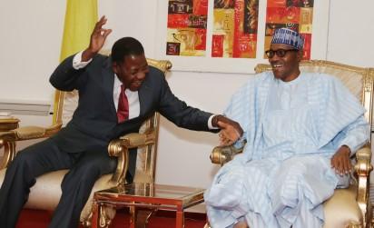 President, Benin Republic, Boni Yayi and President Muhammadu Buhari