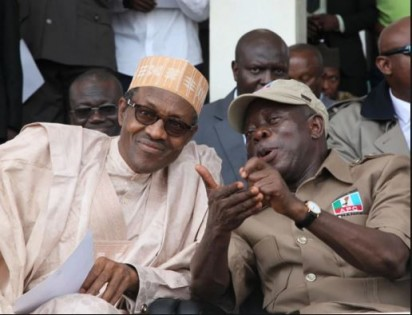 Breaking: Buhari, Oshiomhole meet in Aso Rock