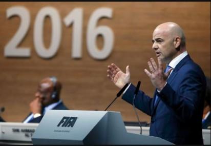 New FIFA President, Gianni Infantino