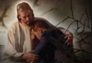 Jesus consoles the week