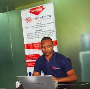CEO, myKustoma, Sylvester Chigbu