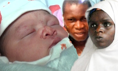 Ese Oruru, Yunusa and new baby