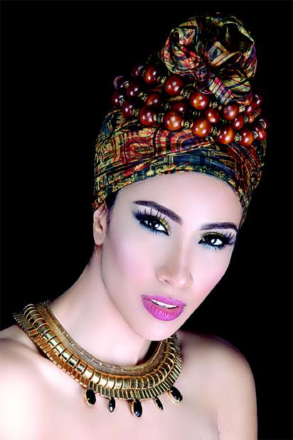 Randa , Afro/Arabian beat singer