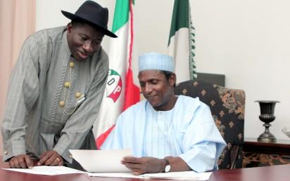 Jonathan, Yar'Adua