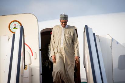 Nigeria warmly receives President Muhammadu Buhari.