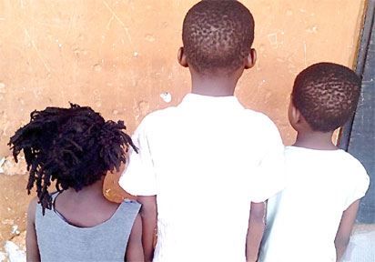Rape: Victims 5, 8, 10-yr-old girls, at same location