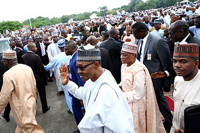 Eid-el-Fitr: Buhari congratulates Nigerians,  warns against reckless statements