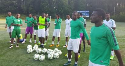 Nigeria's Rio Olympic team training
