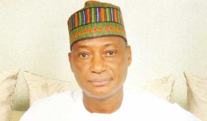 Minister of Defence, Brig-Genl Mansur Mohammed Dan-Ali