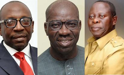 Ize-Iyamu, Obaseki and Oshiomhole