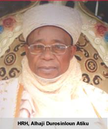 Balogun Fulani of Ilorin, Alhaji Mahmud Durosinlohun Atiku
