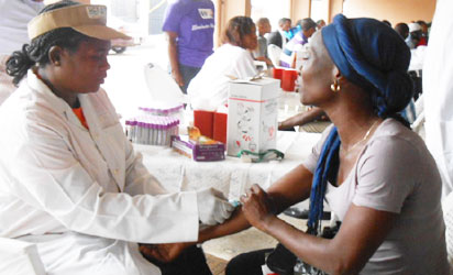 SCREENING: Regular blood checks help in early detection and treatment of hepatitis
