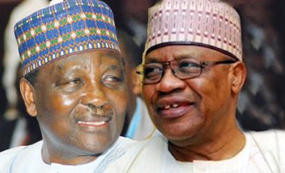 General Yakubu Jack Gowon and General Ibrahim Badamosi Babangida retd