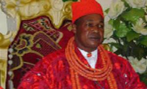 •His Majesty, Charles Ayemi-Botu, aka Lion of the Niger.