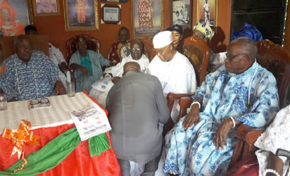 Obaseki's endorsement by the Esogban of Benin and others