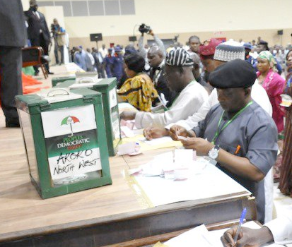 Sorting of vote begins