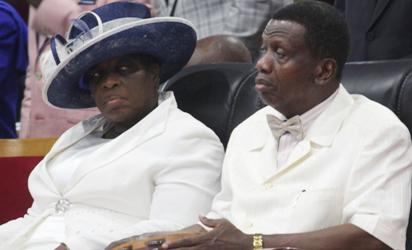 Adeboye and his wife
