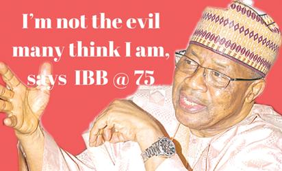Gen Ibrahim Badamasi Babangida,retd