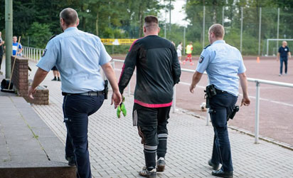 Goal keeper, Marco Kwiotek arrested for conceding 43 goals in one match
