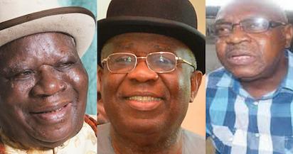 L-R: Chief Edwin Clark, Boma Obuoforibo & Alatubo Charles Harry