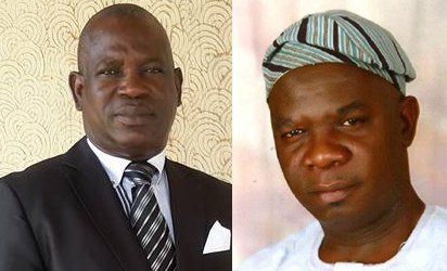 Mafo:PDP deputy governorship candidate and Agboola:APC deputy governorship candidate