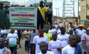 NULGE Ondo state chapter holds Thank You rally to Governor Olusegun Mimiko