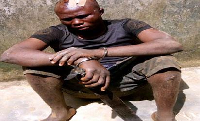 Robber and rapist, Akeem Folorunsho