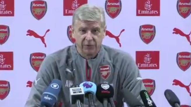 Arsenal manager, Arsene Wenger
