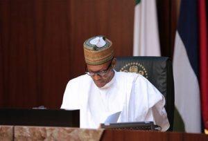 President Muhammadu Buhari presides over October 12 ,2016 Federal Executive Council meeting.