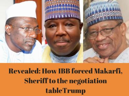 Makarfi, Sheriff and IBB