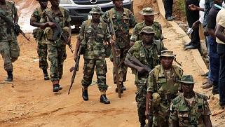 Troops rescue injured terrorist in Borno