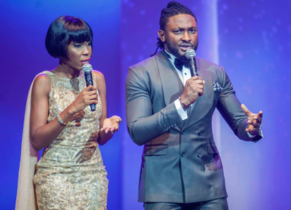 AFRIFF hosts Kemi Lala Akindoju and TV presenter, Uti Nwachukwu,