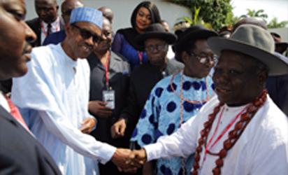 Buhari Niger Delta leaders
