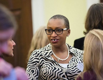 Sandie Okoro, Senior Vice President and General Counsel, World Bank Group.