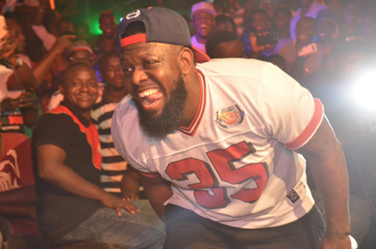 Timaya rocking Onitsha at Legend Real Deal Experience